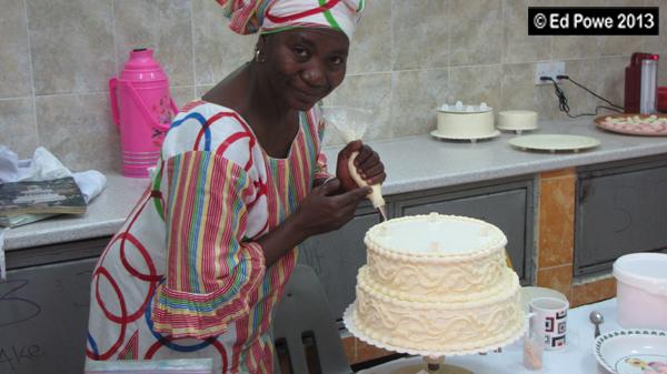 Gambian Banana Cake