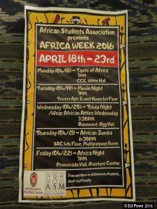 Africa Week Program