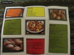 Taste of Africa Folder-b